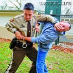If a suspect breaks loose while being handcuffed, they might try to grab your sidearm, a particularly dangerous situation.