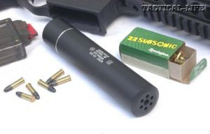Gemtech's G5-22 Suppressor