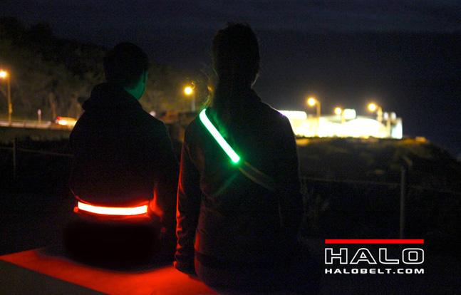 Halo Belt provides bright visibility
