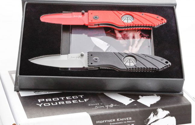 Hoffner Defensive Folding Knife Operator Kit - Knife and Training Blade