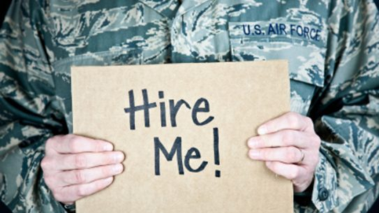 An IT staffing agency is making a name for itself by providing jobs to military veterans leaving active duty.