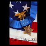 U.S. Navy SEAL Trident with the Medal of Honor
