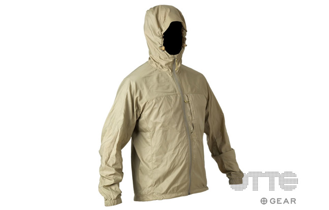 Otte Gear Featherweight Super L Windshirt - Tan