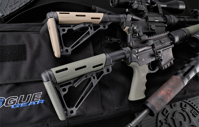 Hogue Rubber OverMolded Collapsible Buttstock | Display