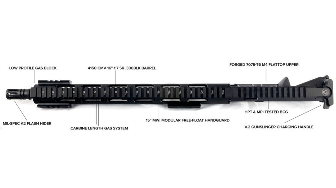 PNW Arms .300 Blackout Upper Receiver | New Product