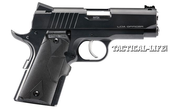 12 New Compact & Subcompact Handguns For 2014 | Para LDA Officer Crimson Trace