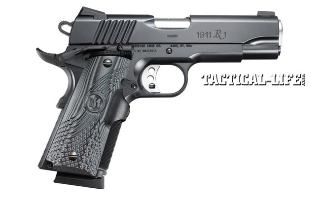 12 New Compact & Subcompact Handguns For 2014 | Remington 1911 R1 Carry Commander Crimson Trace