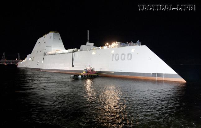 Zumwalt DDG-1000 Destroyer
