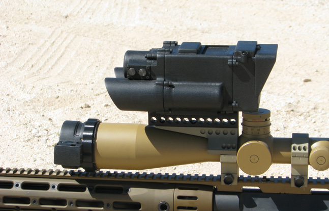 The U.S. Military's DARPA (Defense Advanced Research Projects Agency) is nearly finished working on their One Shot XG sniper system.