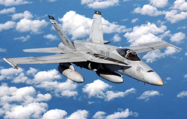 Defense contractor BAE Systems is hoping to lock down deals to upgrade Boeing's F-15 and F/A-18 jets in international markets.