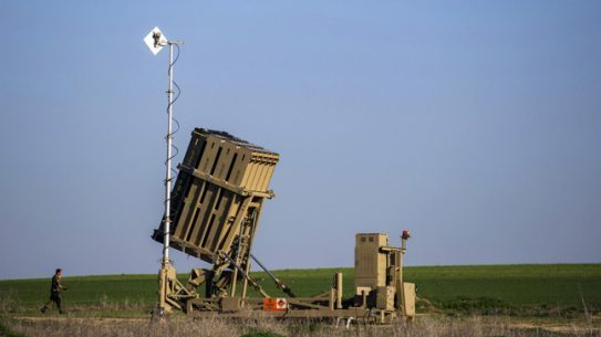 Israel-based Rafael showcased the Iron Beam -- a High Energy Laser (HEL) defense system -- at this year's Singapore Airshow.