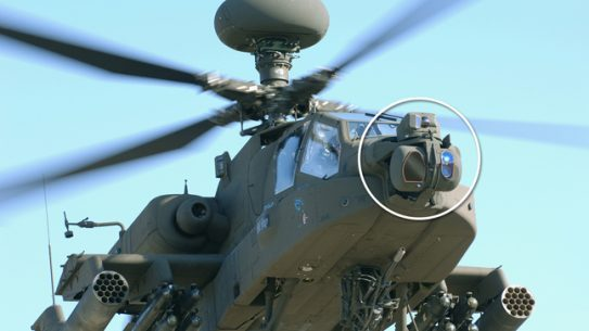 Lockheed won a $92M contract for the AH-64 Apache helicopter Modernized Target Acquisition Designation Sight/Pilot Night Vision Sensor (M-TADS/PNVS).
