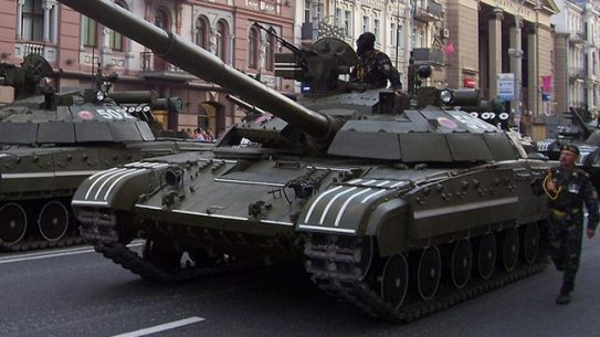 Ukraine's state-owned defense conglomerate has signed an $11.5 million contract to deliver 50 T-64 main battle tanks to the Democratic Republic of the Congo