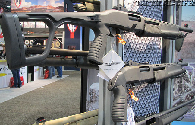 12 New Tactical Shotguns For 2014 - Armsan RS X2 Ultra Short Fixed Stock
