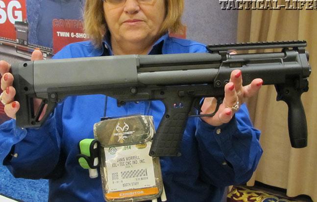 12 New Tactical Shotguns For 2014 - Kel-Tec KSG SBS Profile