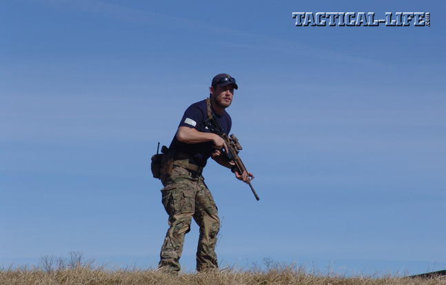 Carbine I instructor Grady Powell