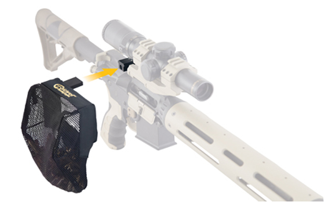 Caldwell AR-15 Picatinny Rail Brass Catcher | Top 15 New AR Accessories for 2014 | VIDEOS | Photo Galleries