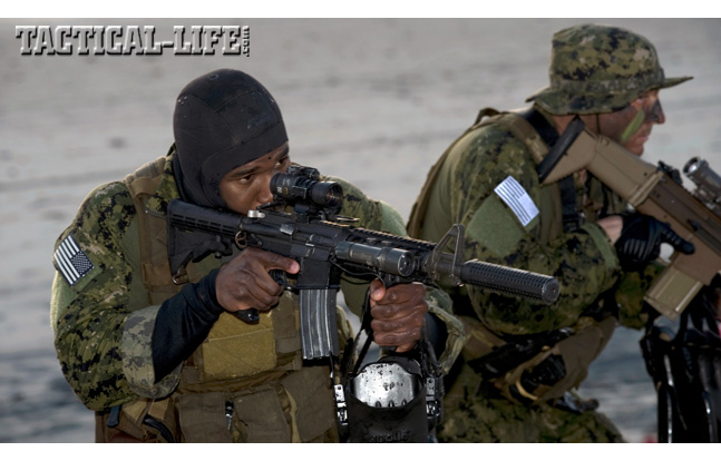 Two Navy SEALs
