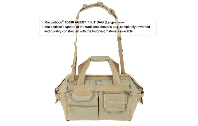 Maxpedition AGENT Large Kit Bag