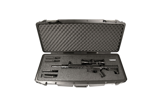 Quick Fire Cases QF600 AR15/Carbine 1 Rifle Case