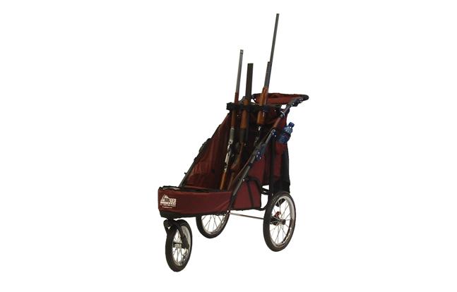 Rugged Gear 3-Gun Muzzles Up Standard Shooting Cart