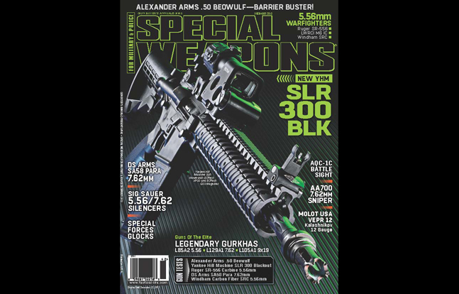 SPECIAL WEAPONS FOR MILITARY & POLICE December 2013
