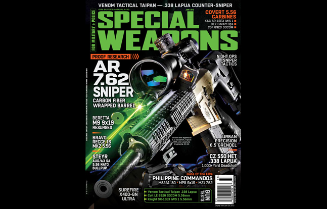 SPECIAL WEAPONS FOR MILITARY & POLICE June 2013