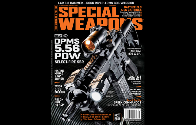 SPECIAL WEAPONS FOR MILITARY & POLICE October 2013
