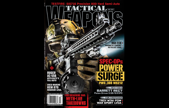 Tactical Weapons Subscription Giveaway