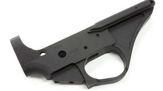 Zel Custom BR-15B Billet Single Shot Lower Receiver