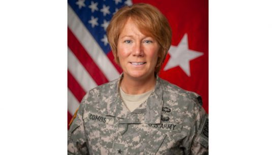 Brig. Gen. Peggy Combs has become the first female commanding general in the 96-year history of Fort Knox.