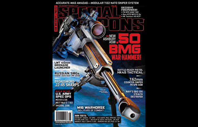 SPECIAL WEAPONS FOR MILITARY & POLICE Subscription Giveaway