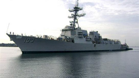 U.S., Romanian and Bulgarian naval forces have begun conducting military exercises in the Black Sea near the Crimea.