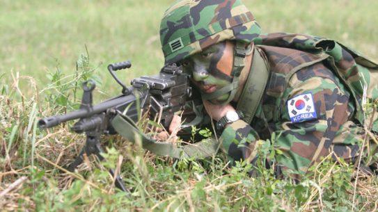 12 Rifles, Machine Guns, Shotguns, & Pistols Used by ROK Marines