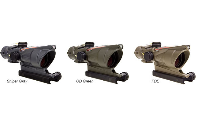 Trijicon Cerakote ACOG | 24 new optics for 2014