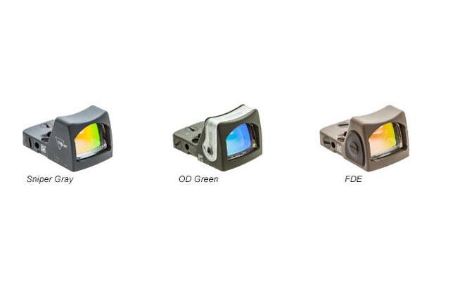 Trijicon Cerakote RMR | 24 new optics for 2014