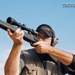 Weatherby offers Mark V Accumark and Deluxe models for lefty shooters. The test Accumark was laser accurate out to 300 yards. Range Certified models are guaranteed to shoot 1 MOA.