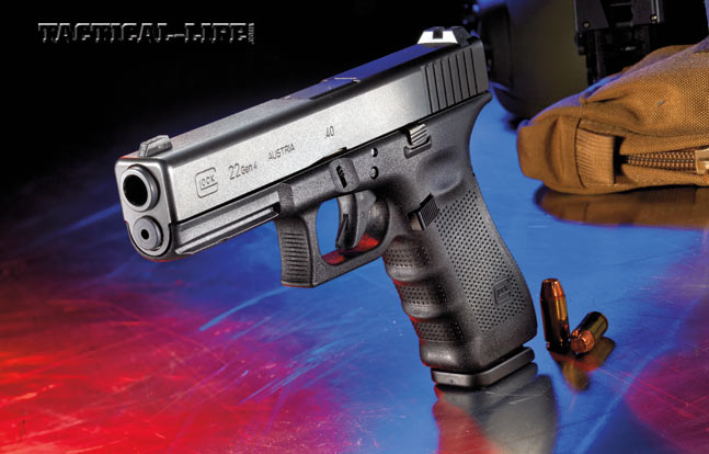 Alaska State Troopers rely on the venerable .40-caliber Glock 22 Gen4 as their duty sidearms.