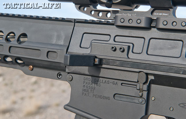DRD Tactical Paratus Gen 2 7.62mm Rifle charging handle open