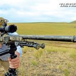 Fitted with a Trijicon TARS 3-15x50 scope, a Harris bipod and a Hog Saddle tripod mount, the Proof Research Tactical II is a wind-resistant tack driver. The weight-saving carbon-fiber barrel allows hunters to add more powerful optics and field-shooting aids to guarantee a first-round hit.