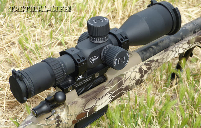 Proof Research Tac II 6.5 Creedmoor Rifle with Trijicon TARS 3-15x50 Scope