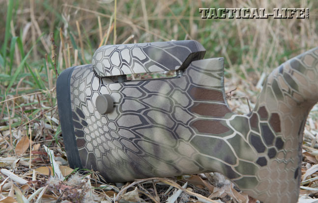 Proof Research Tac II 6.5 Creedmoor Rifle stock and camo pattern