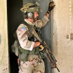 Tom Spooner in Iraq, 2004