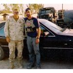 Tom Spooner in Iraq, 2003