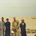 Tom Spooner in Iraq, 1991