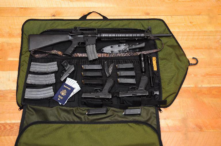 The Skinner Sights HTF Tactical Garment Bag