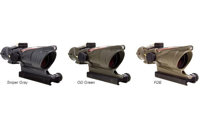 Trijicon Cerakote ACOG | 25 New Reflex Sights For 2014