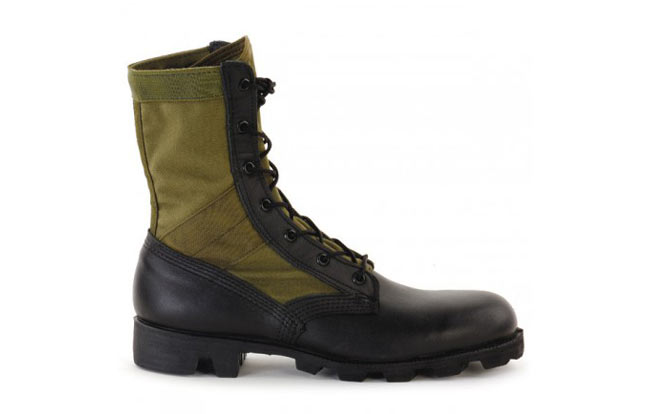Pre-9/11 green, issue jungle boot | SoldierSystems.net