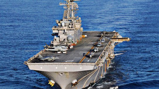 The U.S. Navy has installed a 3D printer aboard the USS Essex.