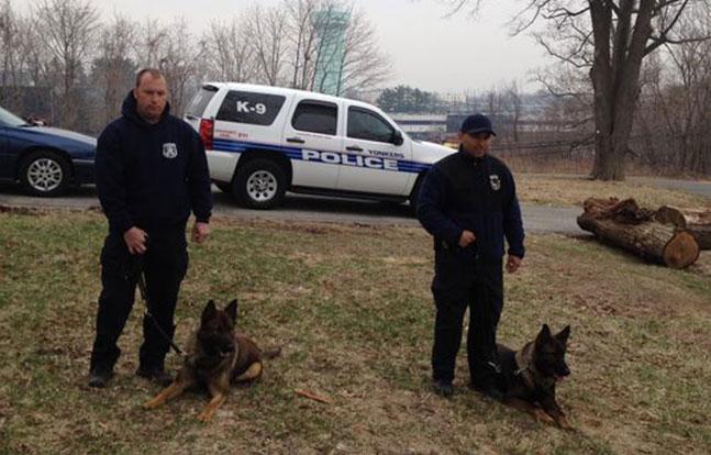 Yonkers Police Dog Training